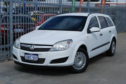2008 Holden Astra AH MY08.5 CD White 4 Speed Automatic Wagon Maddington Gosnells Area Preview