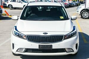 2016 Kia Cerato YD MY17 S Clear White 6 Speed Sports Automatic Hatchback Aspley Brisbane North East Preview