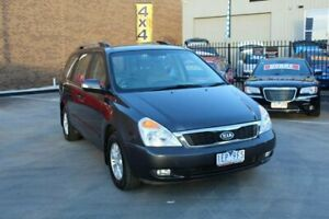 2012 Kia Grand Carnival VQ MY12 S Grey 6 Speed Automatic Wagon Hoppers Crossing Wyndham Area Preview
