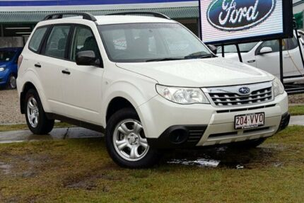2011 Subaru Forester S3 X Pearl White Automatic Wagon Capalaba West Brisbane South East Preview