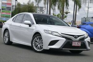 2019 Toyota Camry ASV70R SL Frosted White 6 Speed Sports Automatic Sedan Upper Mount Gravatt Brisbane South East Preview