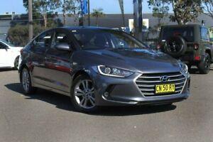2016 Hyundai Elantra AD MY17 Active Hyper Grey 6 Speed Sports Automatic Sedan Condell Park Bankstown Area Preview