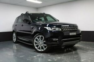 2015 Land Rover Range Rover Sport L494 15.5MY SDV6 CommandShift SE Blue 8 Speed Sports Automatic