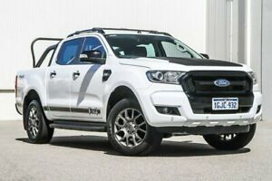 2017 Ford Ranger PX MkII XLT Double Cab White 6 Speed Sports Automatic Utility Rockingham Rockingham Area Preview