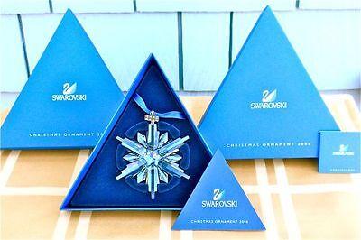 2006 SWAROVSKI CRYSTAL STAR ORNAMENT - MINT IN BOX