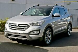 2015 Hyundai Santa Fe DM2 MY15 Highlander Sleek Silver 6 Speed Sports Automatic Wagon Slacks Creek Logan Area Preview