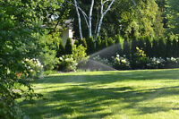 Lawn Irrigation - Installations, Service and Winterizations