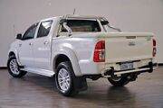 2012 Toyota Hilux GGN15R MY12 SR5 Double Cab 4x2 White 5 Speed Automatic Utility Myaree Melville Area Preview
