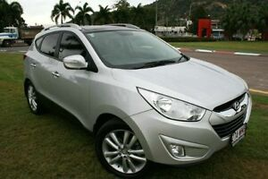 2012 Hyundai ix35 LM MY11 Highlander AWD Silver 6 Speed Sports Automatic Wagon Townsville Townsville City Preview