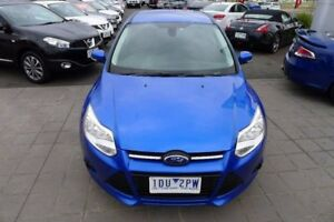 2014 Ford Focus LW MKII Trend PwrShift Blue 6 Speed Sports Automatic Dual Clutch Hatchback