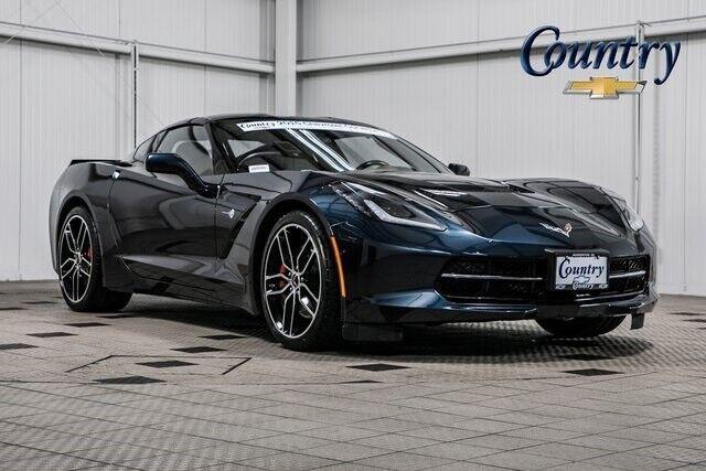 2015 Black Chevrolet Corvette Stingray Z51   C7 Corvette Photo 1