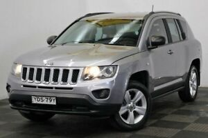 2016 Jeep Compass MK MY16 Sport CVT Auto Stick Silver 6 Speed Constant Variable Wagon