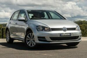 2012 Volkswagen Golf VII 90TSI DSG Comfortline Silver 7 Speed Sports Automatic Dual Clutch Hatchback Somersby Gosford Area Preview