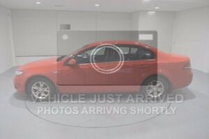 2008 Ford Falcon FG XT Red 5 Speed Sports Automatic Sedan Invermay Launceston Area Preview
