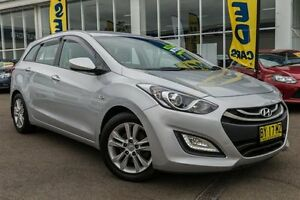 2013 Hyundai i30 GD Active Tourer Silver 6 Speed Sports Automatic Wagon Kings Park Blacktown Area Preview