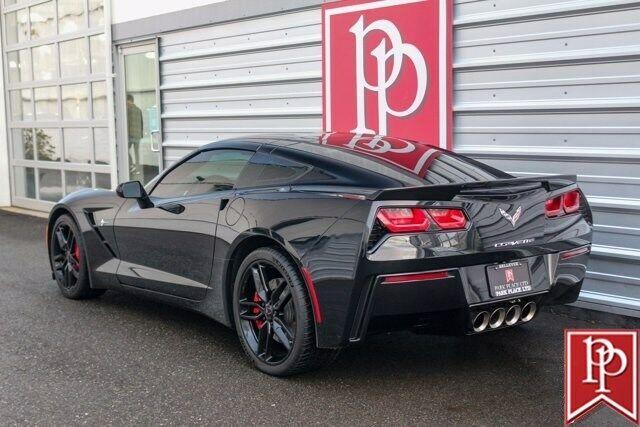 2016 Black Chevrolet Corvette  2LT   C7 Corvette Photo 3