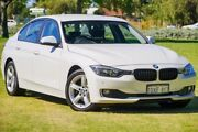 2012 BMW 320i F30 MY0812 White 8 Speed Sports Automatic Sedan Victoria Park Victoria Park Area Preview