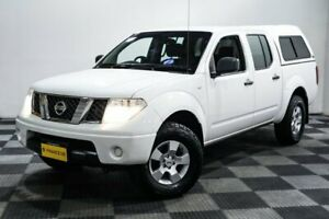 2011 Nissan Navara D40 RX White 5 Speed Automatic Utility Edgewater Joondalup Area Preview