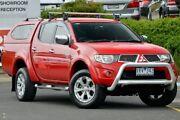 2010 Mitsubishi Triton MN MY10 GLX-R Double Cab Red 5 Speed Sports Automatic Utility Narre Warren Casey Area Preview