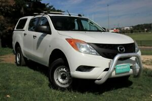 2013 Mazda BT-50 UP0YF1 XT 4x2 Hi-Rider White 6 Speed Sports Automatic Utility Officer Cardinia Area Preview