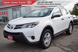 2013 Toyota RAV4 LE FWD - MANAGER'S SPECIAL