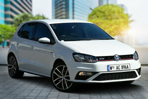 2016 Volkswagen Polo 6R MY16 GTi White 6 Speed Manual Hatchback Bayswater Bayswater Area Preview