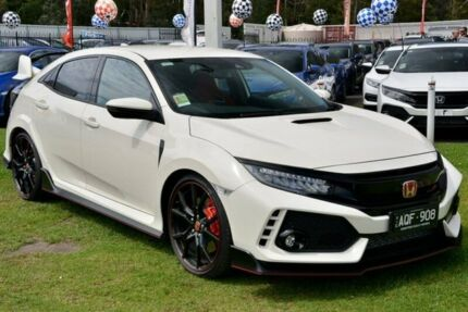 2017 Honda Civic 10th Gen MY17 Type R White 6 Speed Manual Hatchback Ferntree Gully Knox Area Preview
