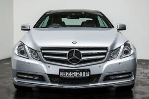 2011 Mercedes-Benz E250 CDI C207 BlueEFFICIENCY Elegance Silver 5 Speed Sports Automatic Coupe