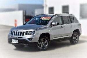 2015 Jeep Compass MK MY15 North Silver 6 Speed Sports Automatic Wagon Pakenham Cardinia Area Preview