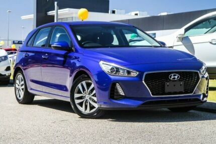 2019 Hyundai i30 PD2 MY19 Active Blue 6 Speed Sports Automatic Hatchback Rockingham Rockingham Area Preview