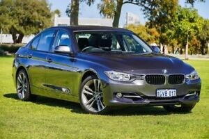 2012 BMW 320i F30 MY0812 Mineral Grey 8 Speed Sports Automatic Sedan Burswood Victoria Park Area Preview