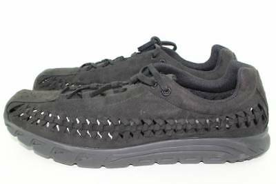 low priced 67e01 b8b0e NIKE MAYFLY WOVEN MEN SIZE 11.5 BLACK BLACK NEW LIGHT WEIGHT COMFORTABLE  RARE