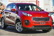 2016 Kia Sportage QL SI (FWD) Fiery Red 6 Speed Automatic Wagon Glendalough Stirling Area Preview