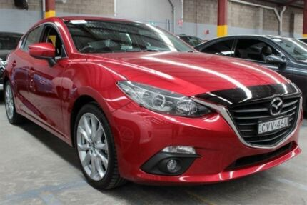 2014 Mazda 3 BL MY13 SP25 Red 5 Speed Automatic Hatchback Warabrook Newcastle Area Preview