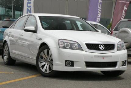 2014 Holden Caprice WN MY14 White 6 Speed Sports Automatic Sedan Wavell Heights Brisbane North East Preview