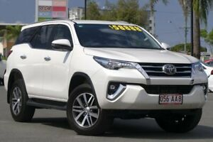 2019 Toyota Fortuner GUN156R Crusade Crystal Pearl 6 Speed Automatic Wagon Upper Mount Gravatt Brisbane South East Preview