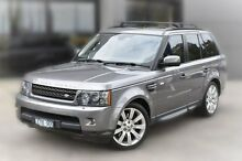 2010 Land Rover Range Rover Sport L320 10MY TDV6 Stornoway Grey 6 Speed Sports Automatic Wagon Berwick Casey Area Preview