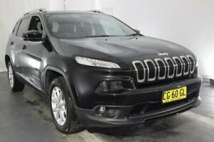 2014 Jeep Cherokee KL MY15 Longitude Black 9 Speed Sports Automatic Wagon Maryville Newcastle Area Preview