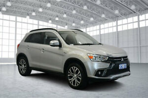 2018 Mitsubishi ASX XC MY18 LS 2WD Sterling Silver 6 Speed Constant Variable Wagon Victoria Park Victoria Park Area Preview