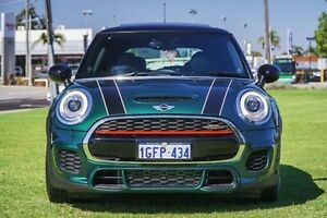 2016 Mini Hatch F56 John Cooper Works Green 6 Speed Sports Automatic Hatchback Victoria Park Victoria Park Area Preview