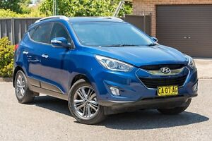 2014 Hyundai ix35 LM3 MY14 Elite AWD Blue 6 Speed Sports Automatic Wagon Greenacre Bankstown Area Preview
