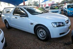 2008 Holden Ute VE Omega White 4 Speed Automatic Utility Minchinbury Blacktown Area Preview