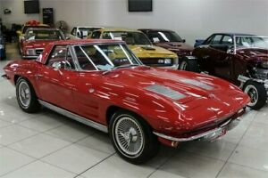 1963 Chevrolet Corvette Stingray Red Automatic Coupe Carss Park Kogarah Area Preview