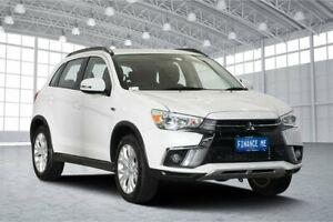 2019 Mitsubishi ASX XC MY19 ES 2WD ADAS White 6 Speed Constant Variable Wagon