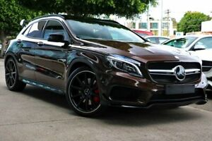 2015 Mercedes-Benz GLA 45 AMG 4MATIC X156 805+055MY AMG SPEEDSHIFT DCT 4MATIC Brown 7 Speed South Melbourne Port Phillip Preview