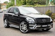 2015 Mercedes-Benz ML500 W166 MY805 7G-Tronic + Black 7 Speed Sports Automatic Wagon Greenacre Bankstown Area Preview