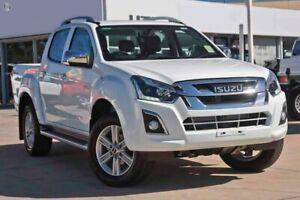 2018 Isuzu D-MAX MY18 LS-T Crew Cab White 6 Speed Sports Automatic Utility Christies Beach Morphett Vale Area Preview