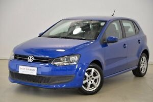 2012 Volkswagen Polo 6R MY13 77TSI DSG Comfortline Blue 7 Speed Sports Automatic Dual Clutch Mansfield Brisbane South East Preview