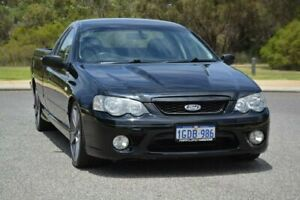 2006 Ford Falcon BF XR8 Ute Super Cab Black 6 Speed Manual Utility Cannington Canning Area Preview