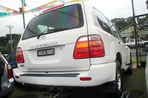 2000 Toyota Landcruiser FZJ105R GXL (4x4) White 4 Speed Automatic 4x4 Wagon Briar Hill Banyule Area Preview